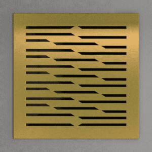 декоративная латунная решетка