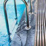 Переливные, латунные решетки для бассейна.