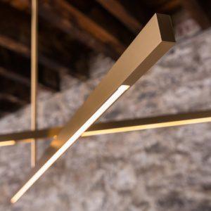 Латунная отделка подвесной лампы