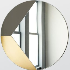 Рамка для зеркала из латуни Pac-man
