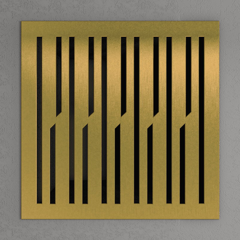 Латунная вентиляционная решетка ы