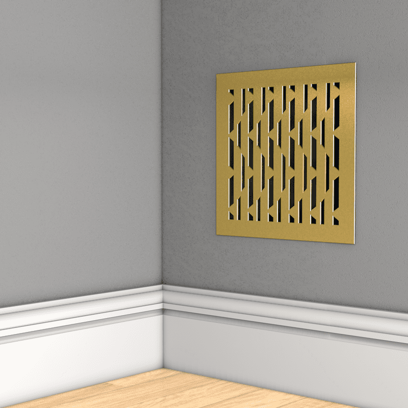 Латунная вентиляционная решетка