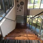 Лестница из латуни