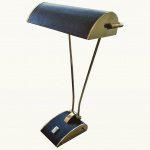 Латунная настольная лампа Элийн Грей