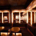 Лтунные рамы в баре