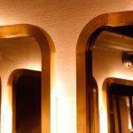 Рама для зеркала из латуни