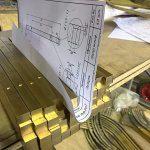 Лестницы из латуни — производство