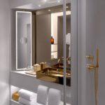 Латунь и керамика в ванных комнатах