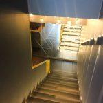 Лестницы из латуни, ограждение