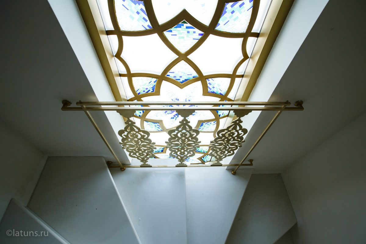Латунный декор в новую мечеть в Казани