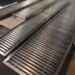 BESPOKE CONVECTOR GRATES FROM BRASS AND STEEL