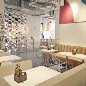 Новый ресторан-пиццерия в Лондоне