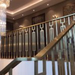BRASS BALUSTRADE FOR A PRIVATE HOME IN KAZAKHSTAN