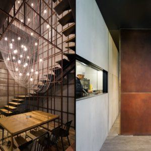 Дизайн ресторана Longxiaobao: когда лапша становится частью интерьера