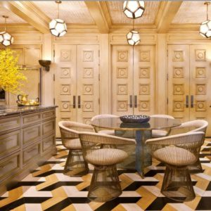Удивительный дизайн столовой от лучших дизайнеров интерьера