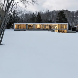 Miesian House от RZLBD и Julia Francisco Design Rises в Торонто