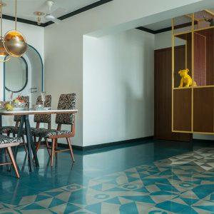 MuseLAB Tiles Квартира в Мумбаи в стиле ар-деко 21-го века