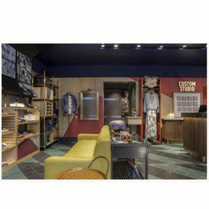 Martin Brudnizki для магазина Pepe Jeans на Риджентс-стрит в Лондоне.