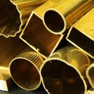 Латунная профильная труба
