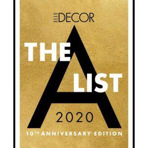 THE 2020 A-LIST: 125 OF ELLE DECOR'S FAVORITE INTERIOR DESIGNERS (100-125)