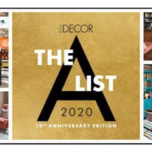 The 2020 A-List: 125 of ELLE Decor's Favorite Interior Designers (1-10)